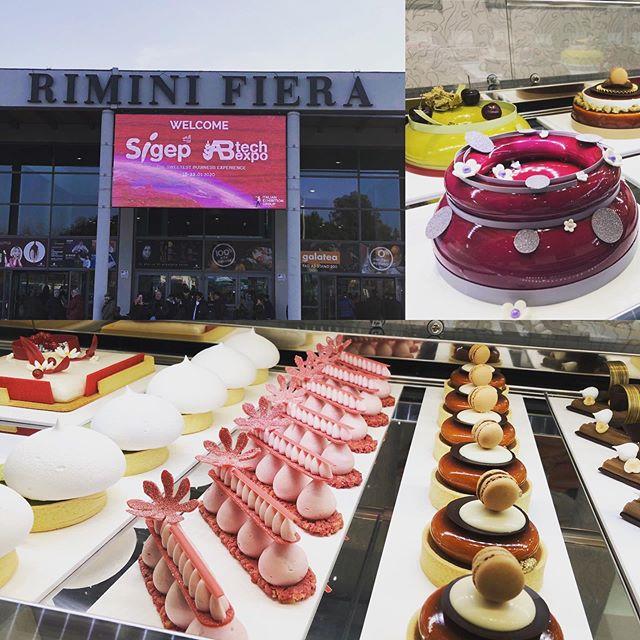 Secondo giorno a #sigep2020 #riminifiera #noncifermiamomai #italianpastry #pastrypassion #pasticceriapeggi #follonica