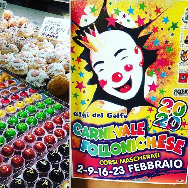 #buongiornogolosoni #carnevalefollonica2020 #buonadomenica #buondivertimentoatutti #dolcidicarnevale #solofritti #solocosebuone #italianpastry #pastrypassion #pasticceriapeggi #follonica