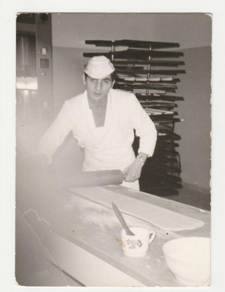 Paolo con mattarello 1968